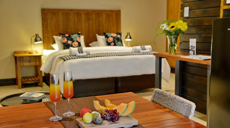 luxury accommodation at boutique hotel